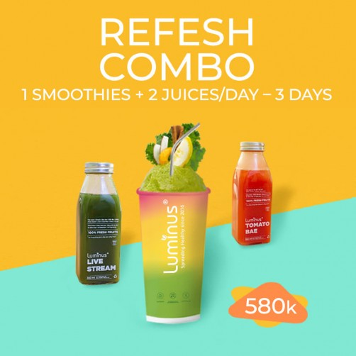 REFRESH COMBO 3DAYS
